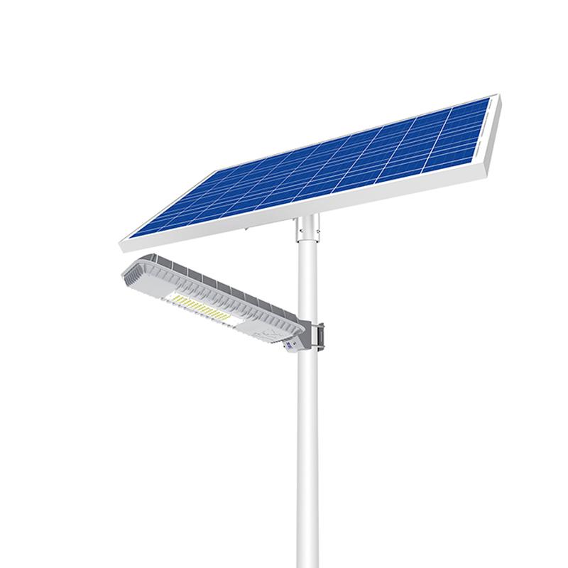 Уличный светильник 50Вт 5400Лм на солнечных батареях Blue-Fire Light 2.0 Blue Carbon