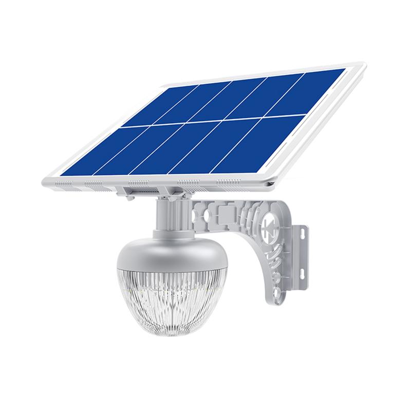 Уличный светильник 15Вт 810Лм на солнечной батарее с датчиком движения Golden Peach Light Blue Carbon
