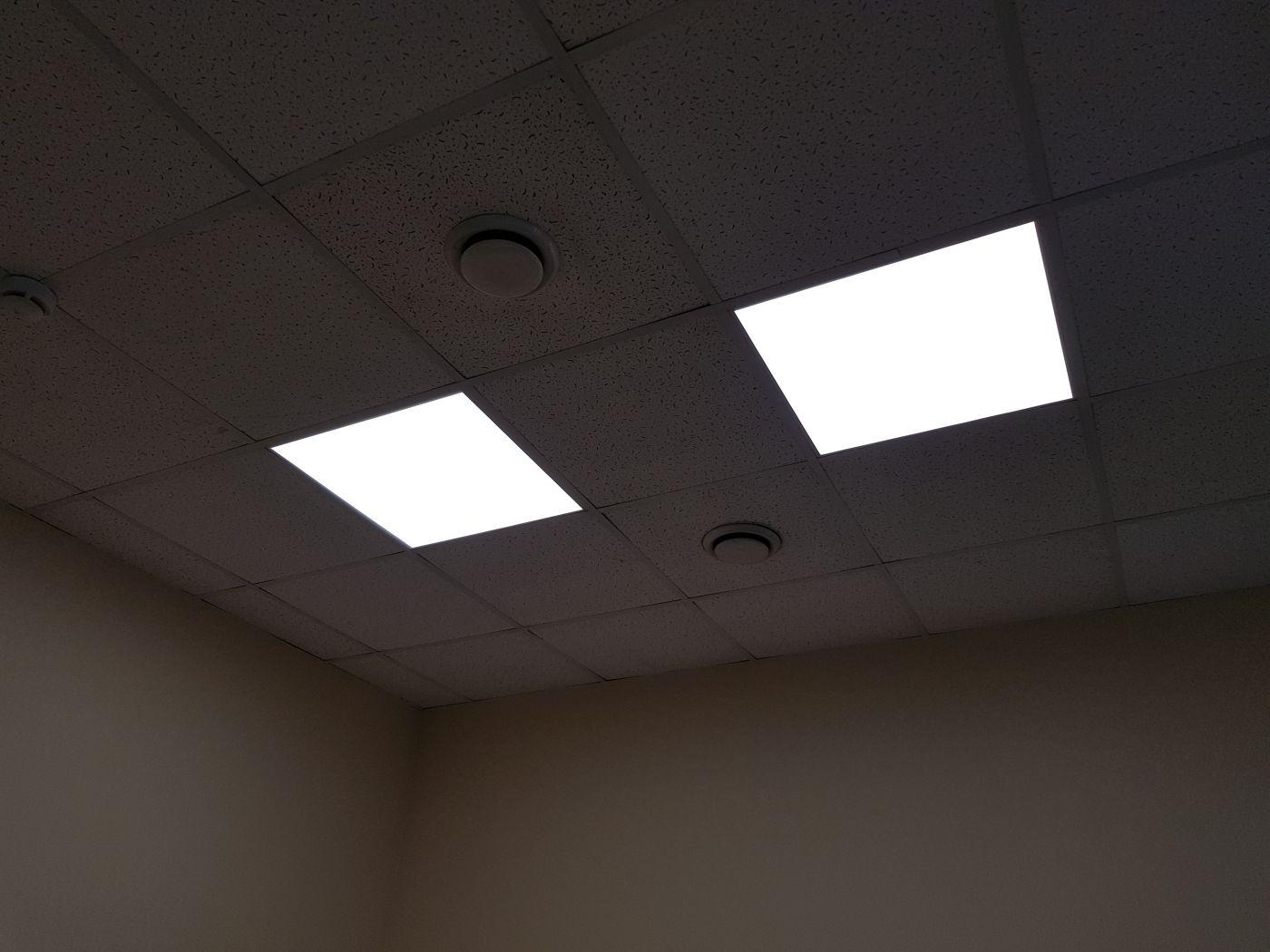 Светодиодный светильник Армстронг 595х595х40мм 72Вт 4000K IP54