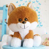 Собака Вольт (Сидя - 45см) Шоколадный