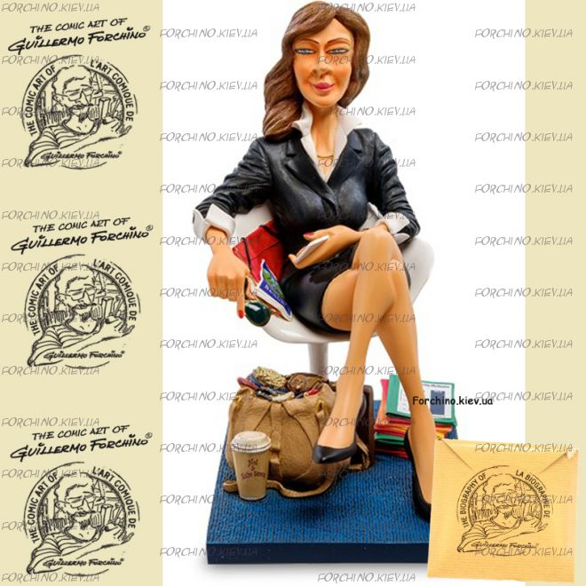 "Фигурка бизнес леди 85546 ""The Businesswoman. Forchino"""
