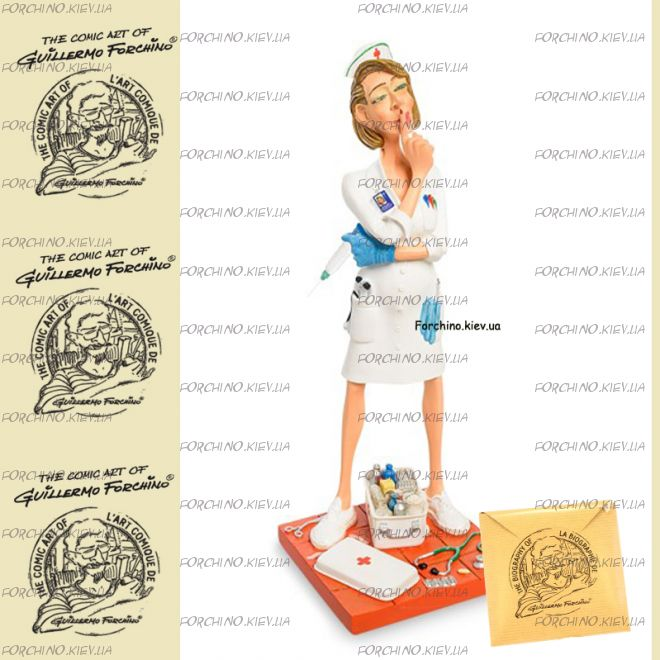 """Фигурка медсестра 84014 """"The Nurse. Forchino"""""""
