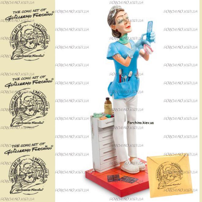 """Фигурка женщина стоматолог 85534 """"Lady Dentist. Forchino"""""""