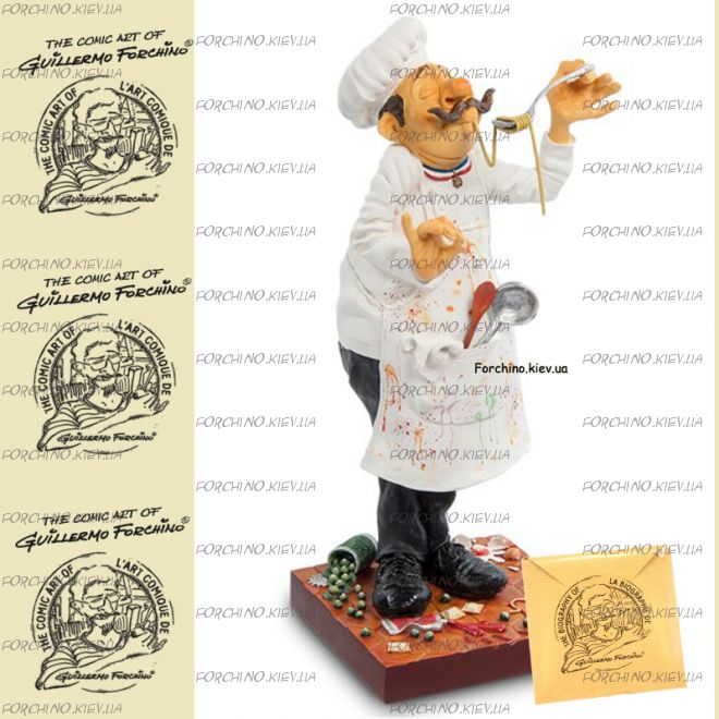 "Фигурка шеф повар 85500 ""The Cook. Forchino"""