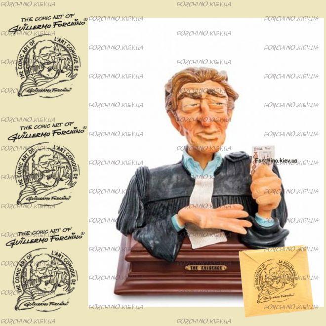 "Фигурка - бюст судья Доказательство 85706 ""Lawyer bust. Forchino"""
