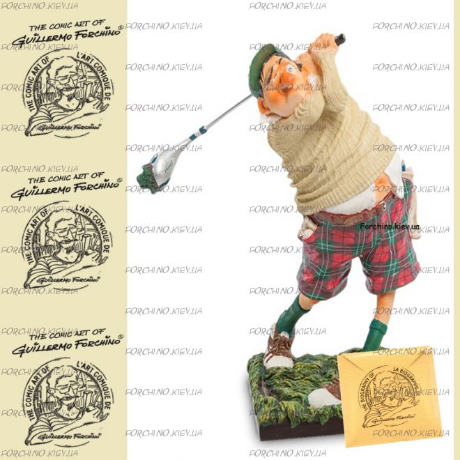 "Фигурка гольфист 84002 ""The Golf player. Forchino"""