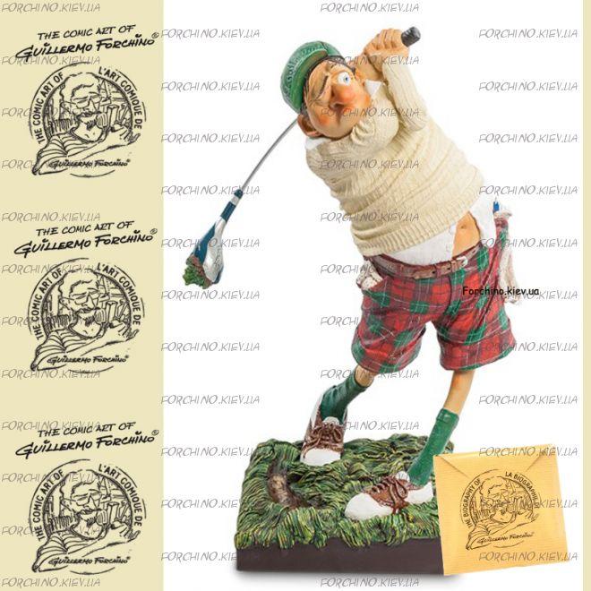 "Фигурка гольфист 85504 ""Fore..! The Golfer. Forchino"""