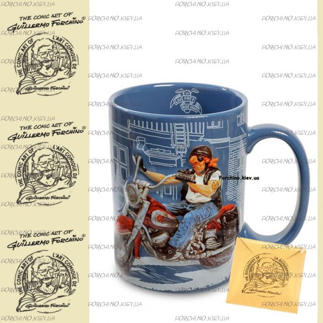 "Чашка байкер 83000 ""Mug The Motorbike. Forchino"""