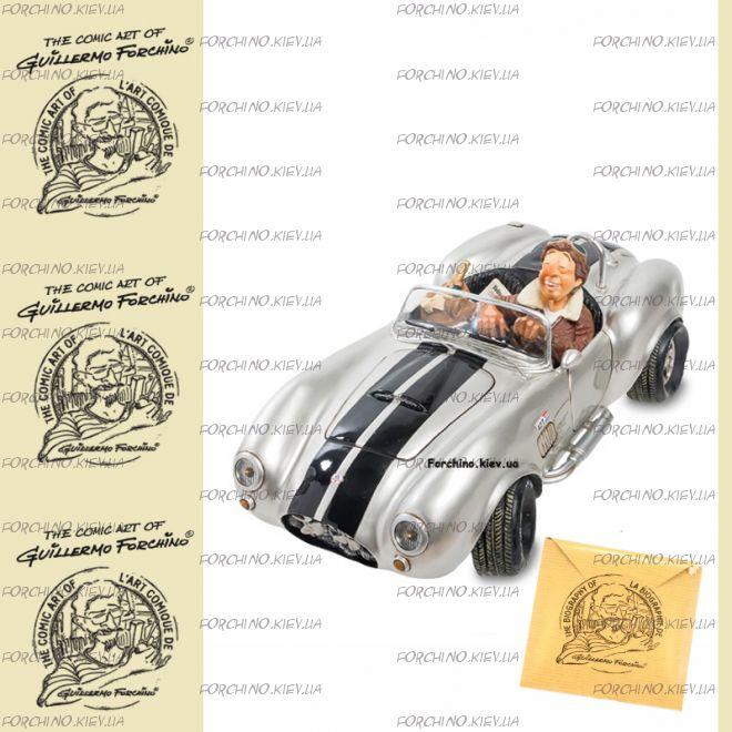 """Автомобиль 85082 """"Shelby Cobra 427 SC Silver. Forchino"""""""