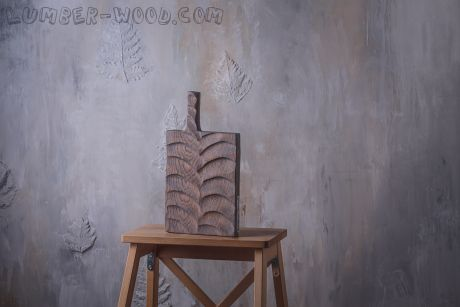 "Разделочная доска из дерева ""House"". Арт. 2076"