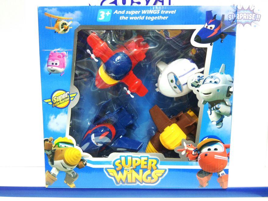 Набор Супер Крылья (Super Wings) 4 героя