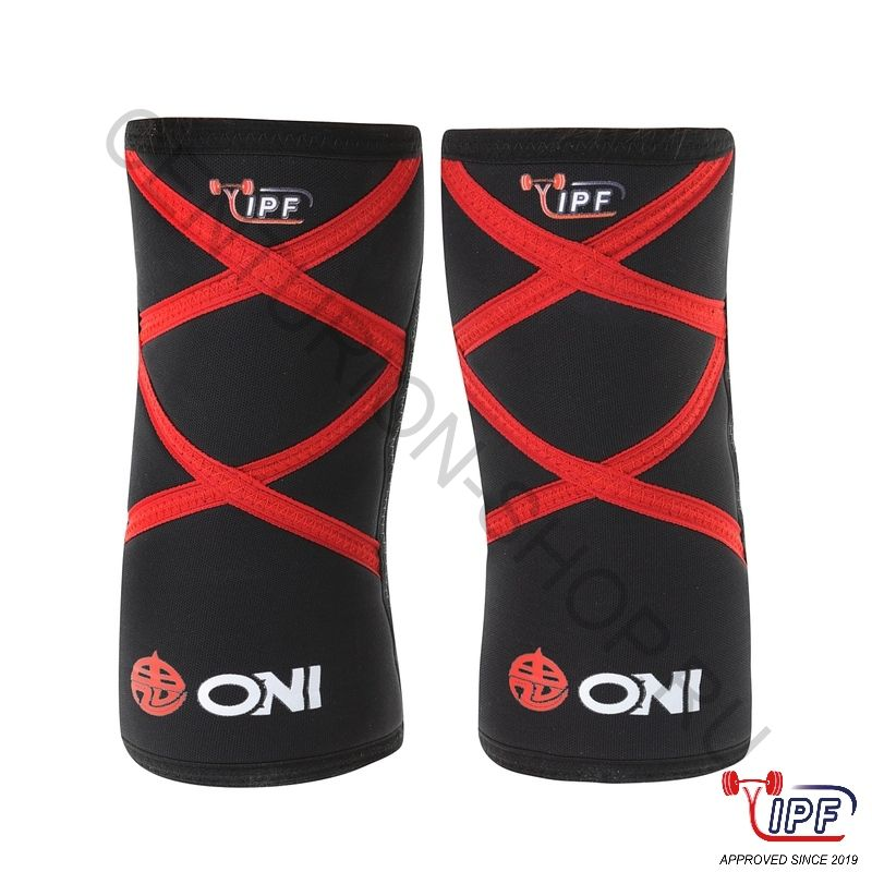 ONI Knee Sleeves XX IPF approved, наколенники из неопрена