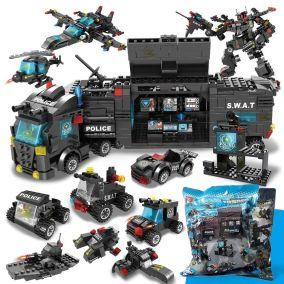 Конструктор Lego полицейский грузовик 8 в 1