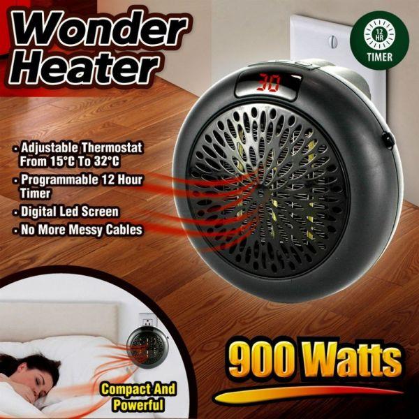 Портативный тепловентилятор с дисплеем Warm Air Blower