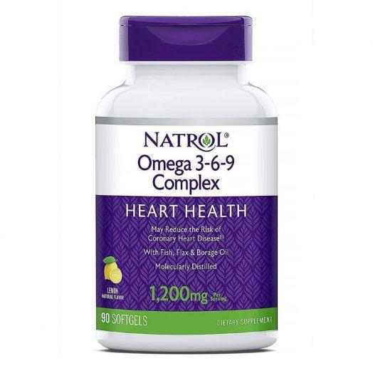 NATROL Omega 3 Fish Oil 1000мг 90капс