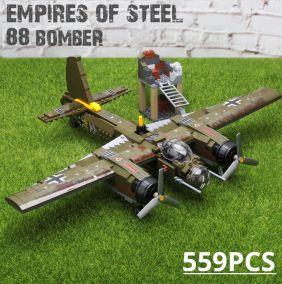 Конструктор Lego самолет бомбардировщик Junkers Ju 88