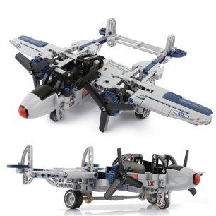 Конструктор Lego самолет истребитель Р-38