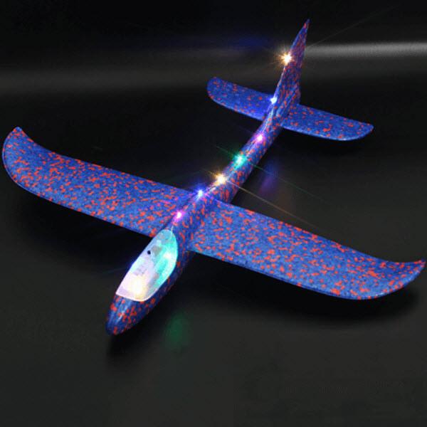 Светящийся метательный планер. 48 см