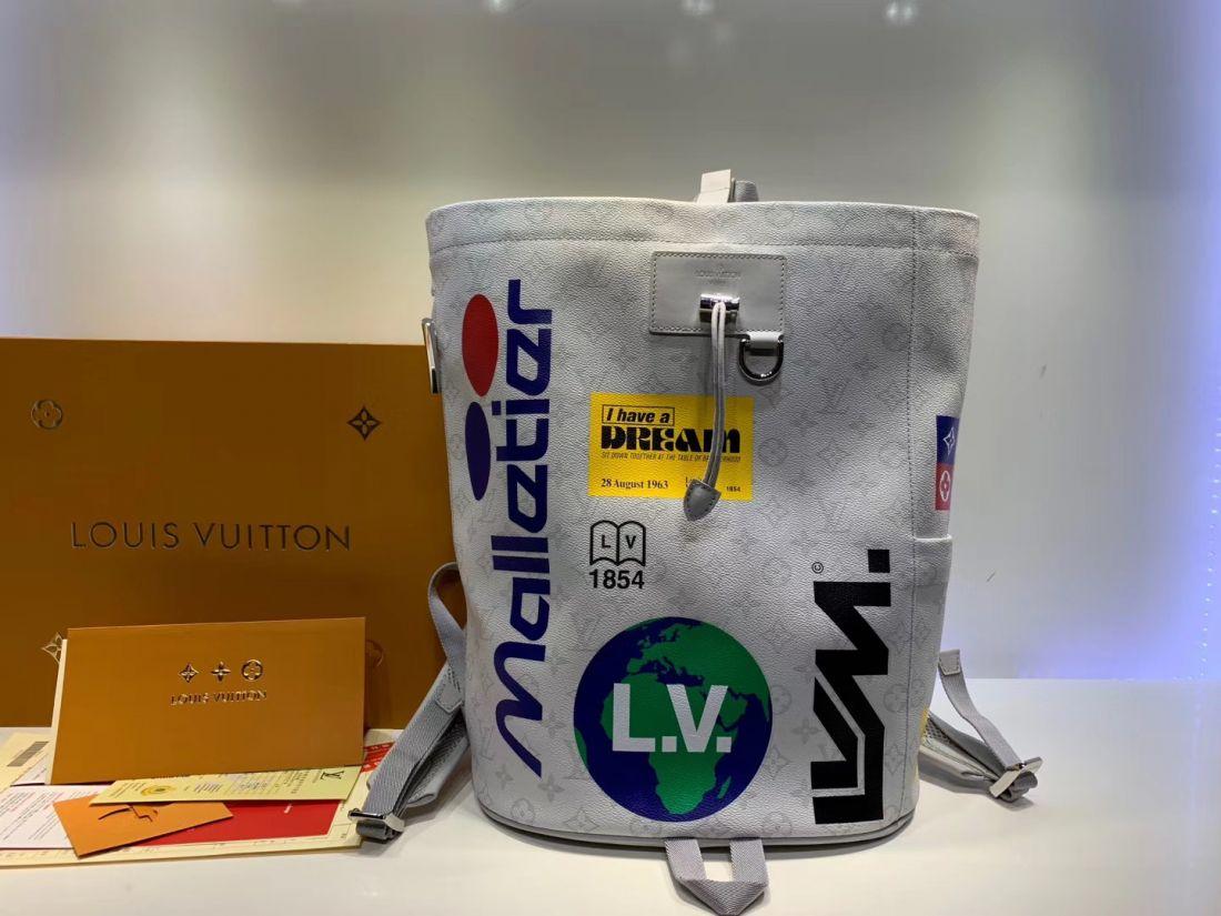 Рюкзак Louis Vuitton Zaino Chalk