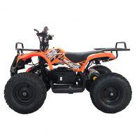 Детский электрический квадроцикл BIG WHEEL 1000 ватт оранжевый 2