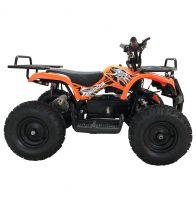 Детский электрический квадроцикл BIG WHEEL 1000 ватт оранжевый 5
