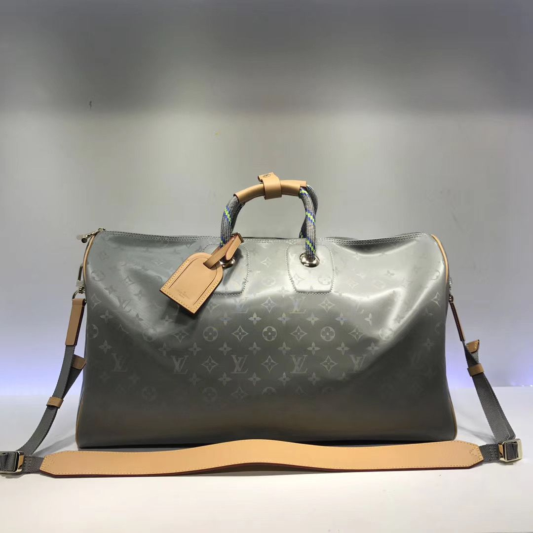 Дорожная сумка Louis Vuitton Keepall 50 Monogram Titanum