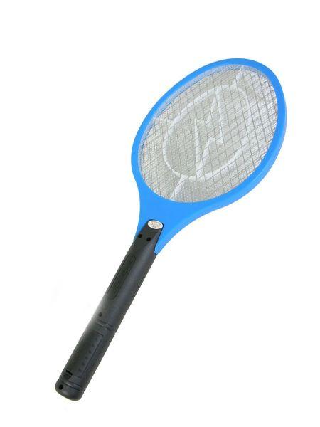Электрическая мухобойка на батарейках, цвет синий