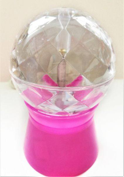 LED-светильник Мини-шар 15 см, Тёмно-розовый