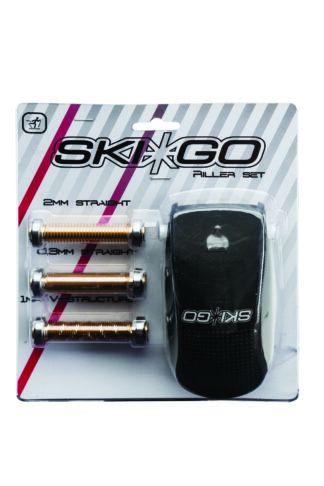 накатка для нанесения структуры skigo с 3 ножами