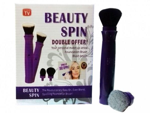 Вращающаяся кисть для макияжа Beauty Spin Double Offer