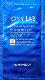 Tony Moly Tonylab AC Control Spot Patch - Патчи-пластыри против  воспалений от бренда Тони Моли (один лист с 12 пластырями)