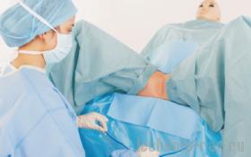 Комплект акушерский стерильный для родов