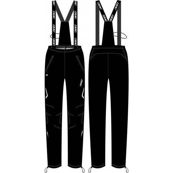брюки разминочные kv+ cross с лямками