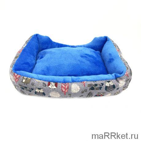 Лежак для животных (совы серый)