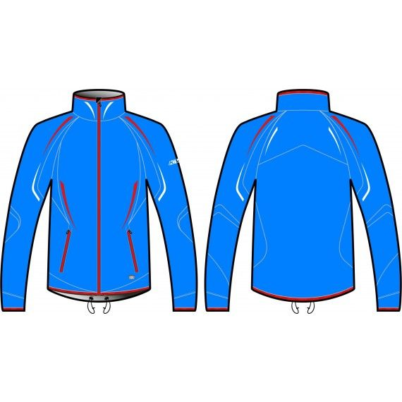 куртка разминочная kv+ cross unisex