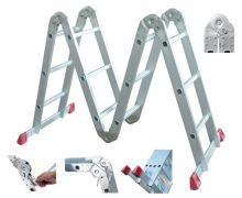 Лестница шарнирная-трансформер 4секции 12ступеней