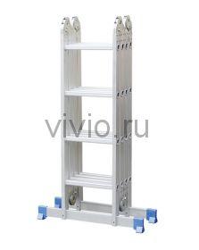 Лестница шарнирная-трансформер 4секции 16ступеней