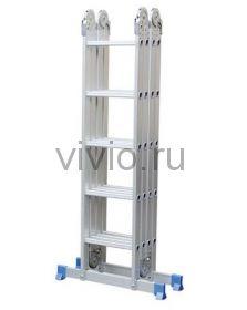 Лестница шарнирная-трансформер 4секции 20ступеней
