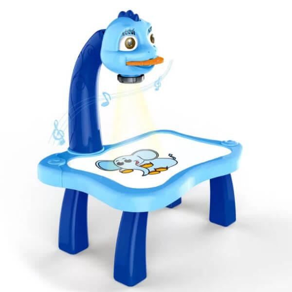 Детский проектор для рисования со столиком Projector Paining. Для мальчиков