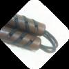 ₪ Нунчаку прямые с оловянными вставками (воск) ₪