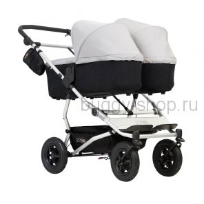 Выставочный Duet  (Дует), Детская коляска для новорожденной двойни Mountain Buggy Duet 2 в 1 (Маунтин Багги Дует)