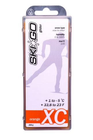 парафин skigo xc orange +1/-5 200 gr