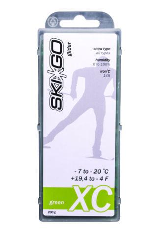 парафин skigo xc green -7/-20 200 gr