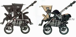 Quinny Freestyle 4 XL (Квини Фристайл 4 XL) - четырехколесная детская коляска