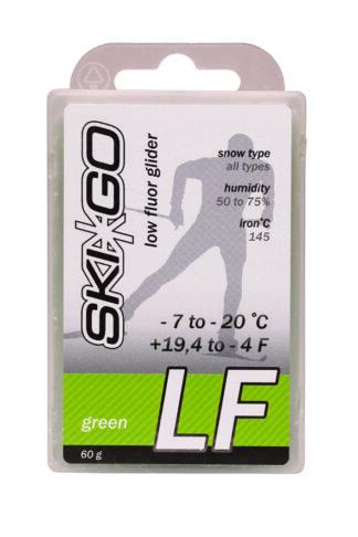 парафин skigo lf green низкофтористый -7/-20 60 гр