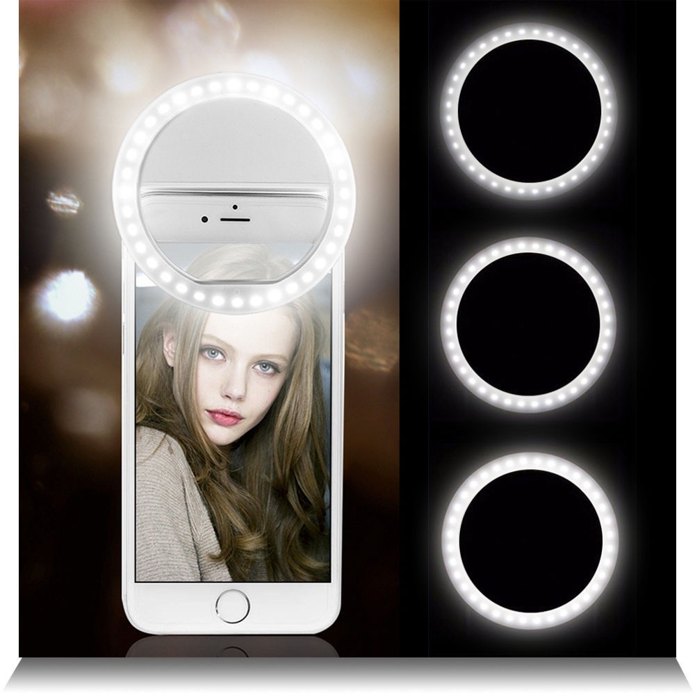 Кольцевая Селфи-Лампа для телефона Sеlfie Ring Light