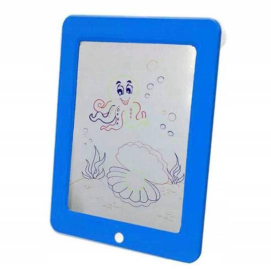 Магический планшет с подсветкой для рисования Magic Sketchpad, синий