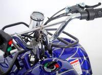 Atv Classic Mini E 800W Электроквадроцикл синий паук вид 7