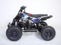 MOTAX Gekkon 70 сс Квадроцикл бензиновый черно-синий вид 2