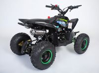 MOTAX Gekkon 70 сс Квадроцикл бензиновый черно-зеленый вид 4